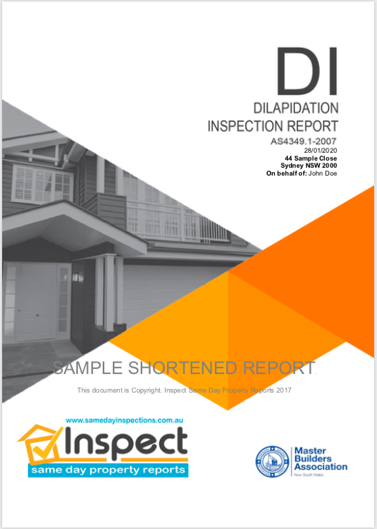 A dilapidation report